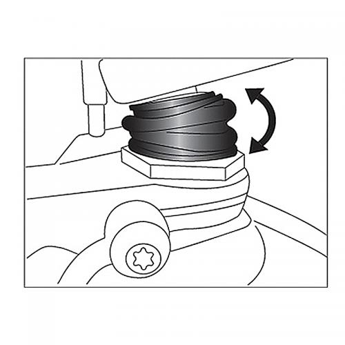 Φυσούνα Ariete_ 13911  BMW Telelever Front Fork Ball Joint Boo
