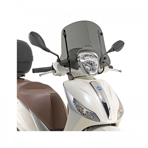 GIVI 5606S 5612S Short smoked screen,  Medley 125-150 (16-17)