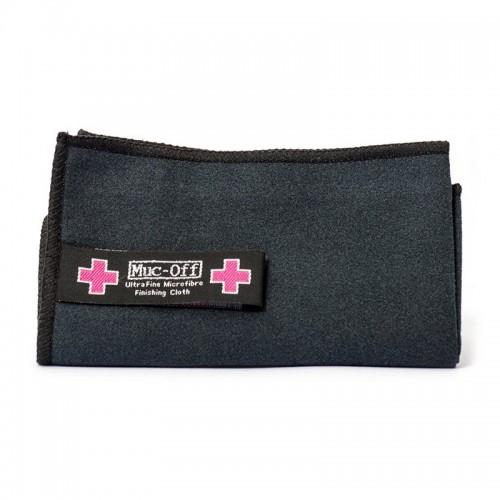 Πανί καθαρισμού κράνους και ζελατίνας Muc Off _ Premium Microfiber cloth μαύρο