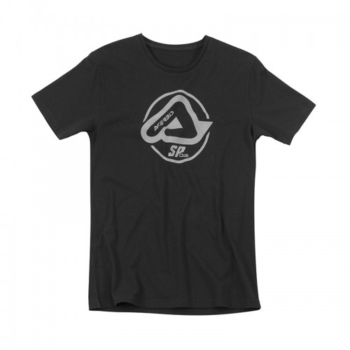 T-shirt Acerbis Sp Club_21963 μαύρο