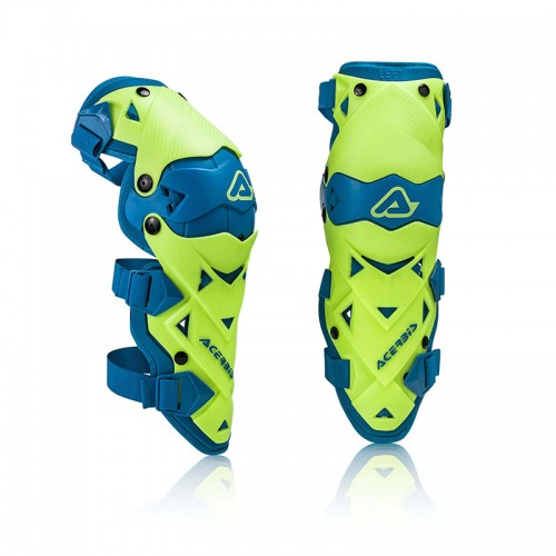 Acerbis IMPACT EVO 3.0 - KNEE GUARD _21608.274 yellow/blue