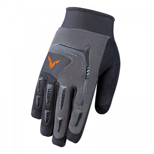 Γάντια Nordcap Downhill γκρί-μαύρο