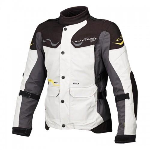 Mountain 4 season jacket, black/grey - MACNA