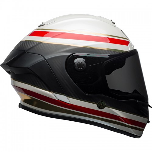 Kράνος Bell Racestar RSD Formula άσπρο-κόκκινο
