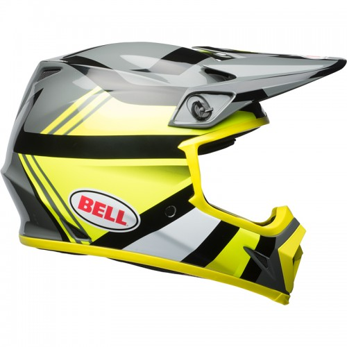 Bell MX-9 Mips Marauder Hi Viz yellow-black