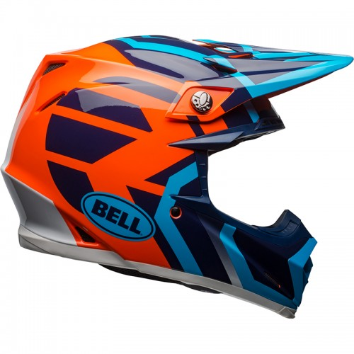 Bell MOTO-9 Mips District blue-orange