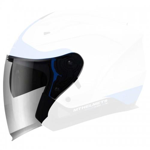 Clear visor for  MT  Avenue jet helmet