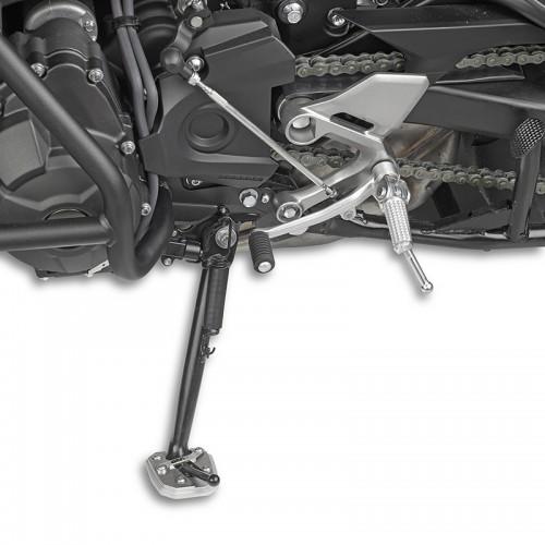 Βάση αλουμινίου ES2122  πλαγιοστάτη_MT-09 Tracer Yamaha GIVI