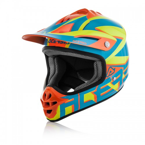 ACERBIS 22102.243 IMPACT JUNIOR 3.0 HELMET - blue/orange