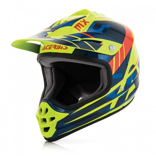 Acerrbis 22102.248 IMPACT JUNIOR 3.0 HELMET blue/yellow