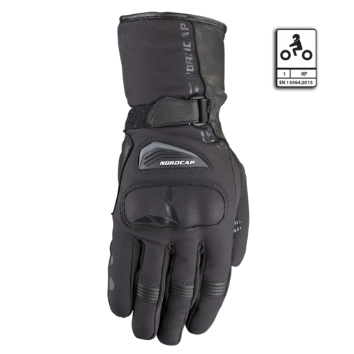 Νοrdcap Voras gloves black