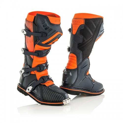 Μπότες Acerbis_ 21596.313 X-PRO V μαύρο-πορτοκαλί Vibram® σόλα