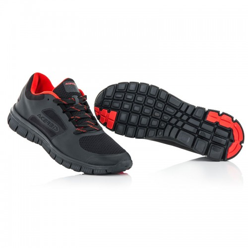 17806.091 CORPORATE RUNNING SHOES Fluo black ACERBIS
