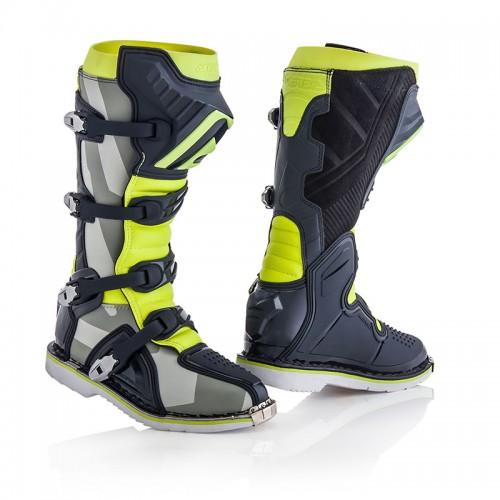Μπότες Acerbis_ 21596.290 X-PRO V γκρί-fluo κίτρινο Vibram® σόλα
