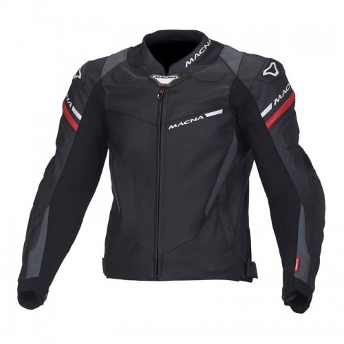 Macna Hyper leather jacket black