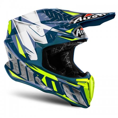 Airoh Twist Iron blue gloss