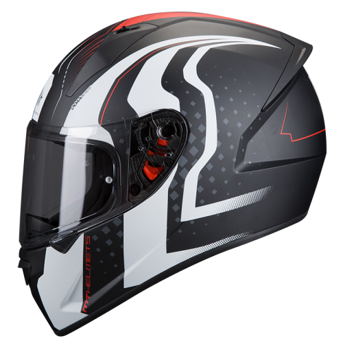 ΜΤ Stinger Warhead Helmet matt black/white
