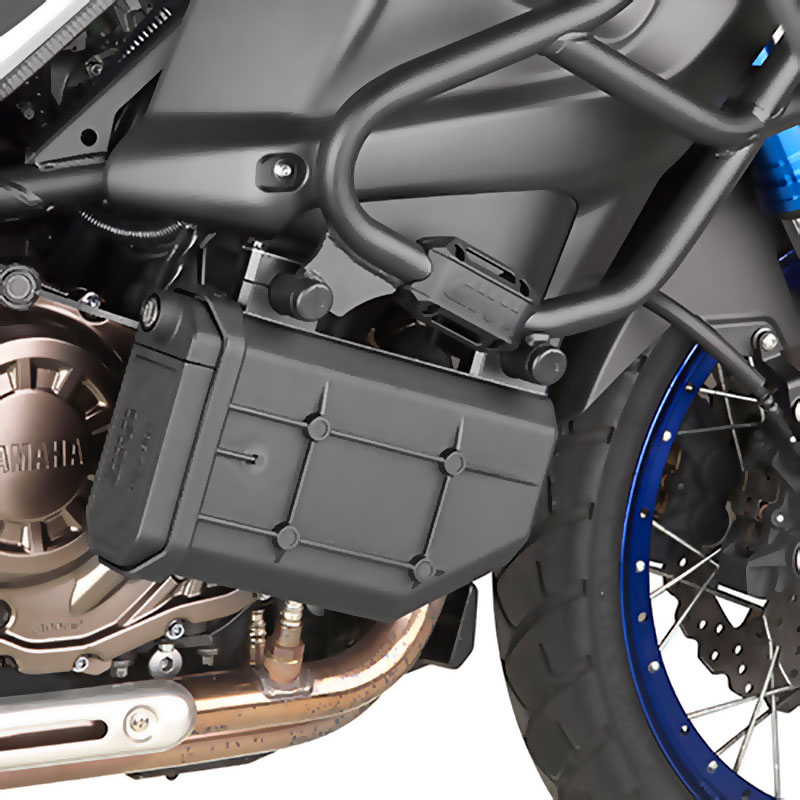 Tool Box Covers >> GIVI TL2119KIT kit to install the S250 Tool Box beneath the TN355 engine guard | Moto Market ...