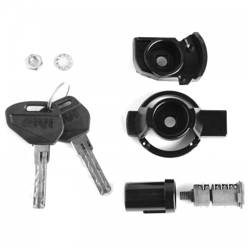 GIVI SL102 Twin Key and Barrel Set for GIVI Monokey Cases
