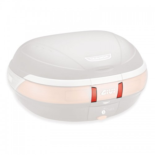 GIVI Z616NKIT Reflecting red plate for E52N top case