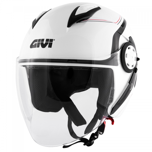 Κράνος  Givi H12.3 Stratos white gloss/black new