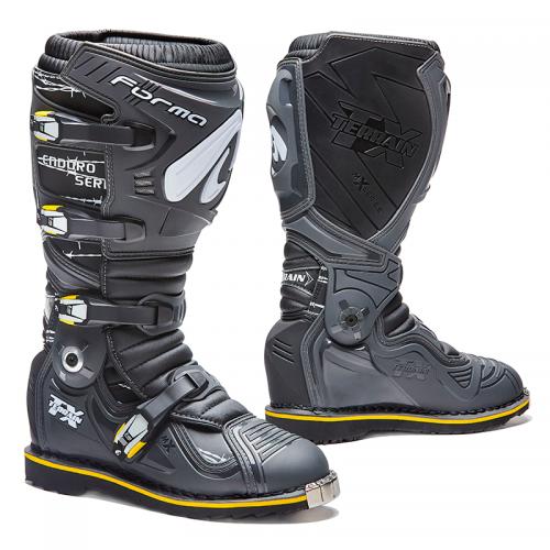 Μπότες Forma Terrain TX Enduro δέρμα ανθρακί-μαύρο