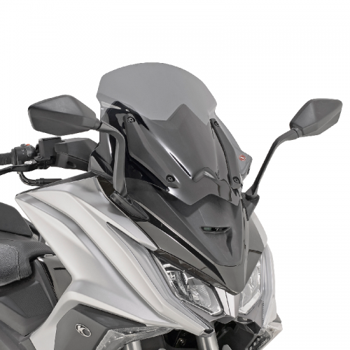 GIVI D6110S low sports screen smoked for AK 550 '17 Kymco