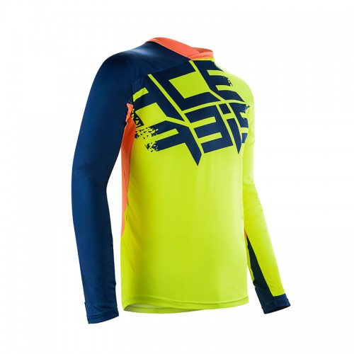 Acerbis Mx Airborne Jersey Yellow-Blue