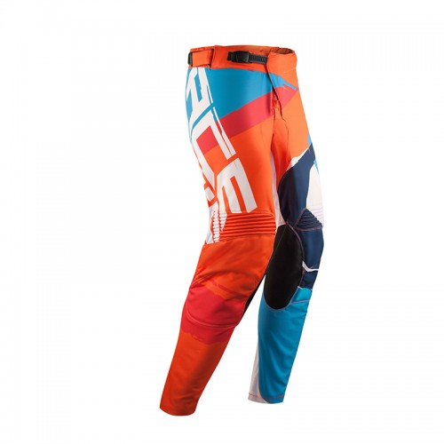Acerbis Mx Stormchaser Pants _ 22685.204 Orange-Blue