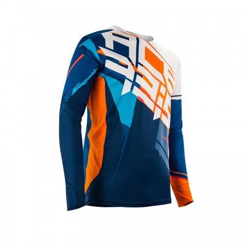 Acerbis Mx Stormchaser Jersey _ 22690.204 Orange-Blue