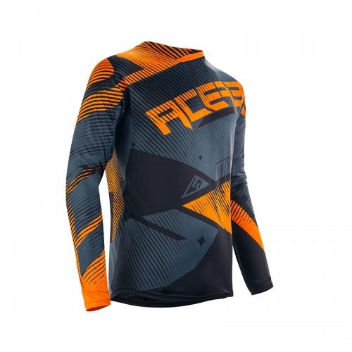 Μπλούζα Acerbis Mx Mudcore 22692.209 πορτοκαλί-μαύρο