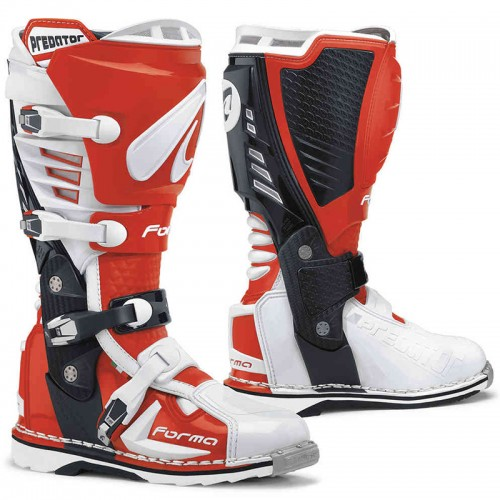 Μπότες Off-Road Forma Predator 17 άσπρο-κόκκινο