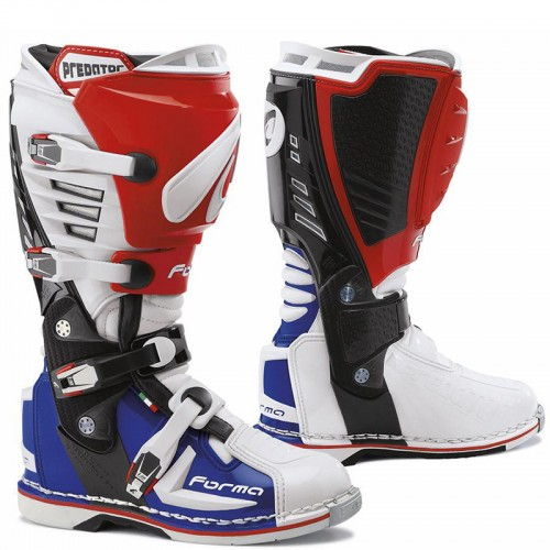 Μπότες Off-Road Forma Predator 17 άσπρο-κόκκινο-μπλέ