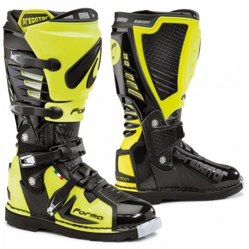 Μπότες Off-Road Forma Predator 17 μαύρο-fluo κίτρινο