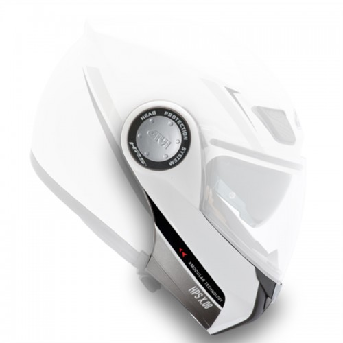 HX08 Completed painted chin-rest White Z869PN910_άσπρο givi