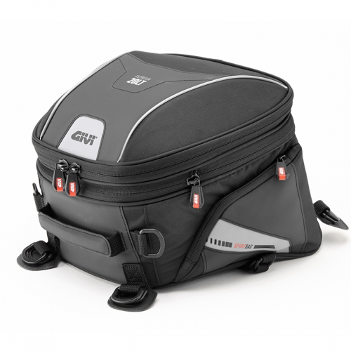 GIVI XS313 xstream Expandable saddle bag suitable for sporty motorcycles – 20 ltr