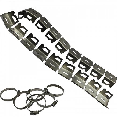 Προστασία εξάτμισης S281_inox 42/52mm Givi