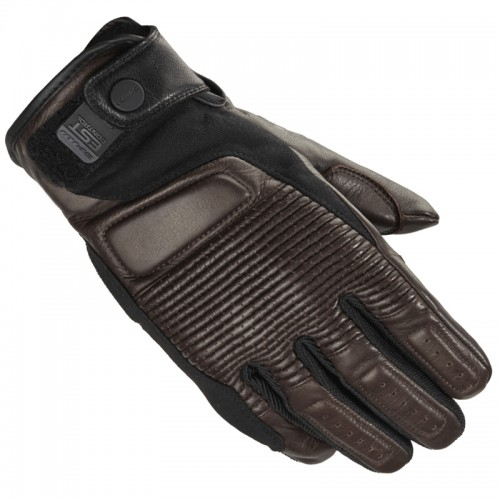 Spidi Garage Leather Gloves Brown