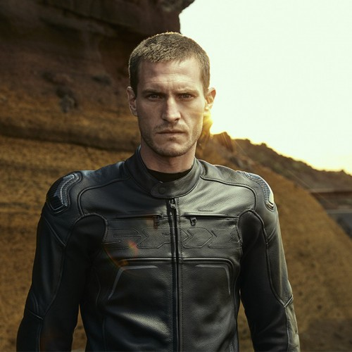 Spidi Carbo Rider Ce Leather Jacket Black