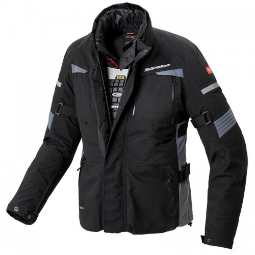 Spidi Techno Tour Evo Jacket Black
