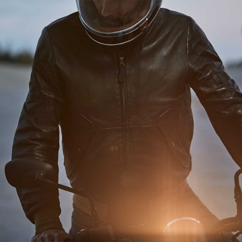 Spidi Super Leather Jacket Black