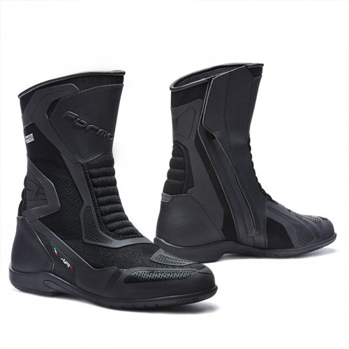 Leather boots Forma Air Outdry Black