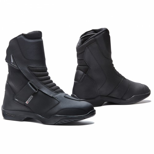 Leather boots FORMA Rival Black
