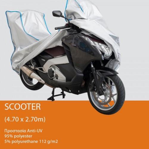 Κάλυμμα moto Spinelli Poly S