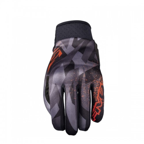 Five Globe Replica Camo Black-fluo Red