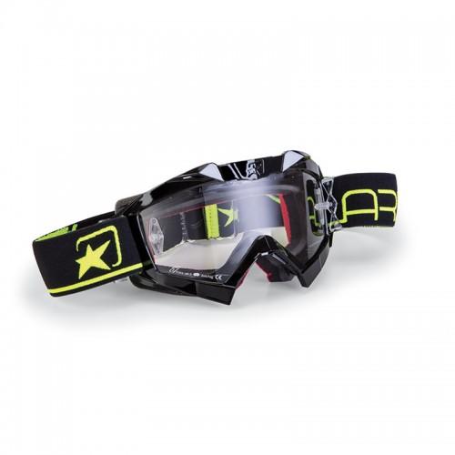 MX Mask Ariete Adrenaline Primis 14001-NGF Black -Fluo