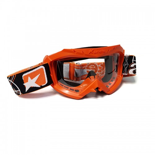 MX Mask Ariete Aria 12960-C124 Orange-Black