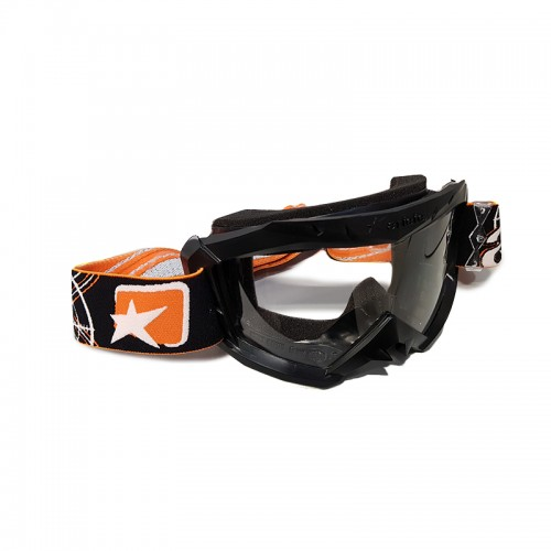 MX Mask Ariete Aria 12960-C121 Black-Orange