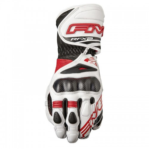 Gloves Five Rfx2 white-red