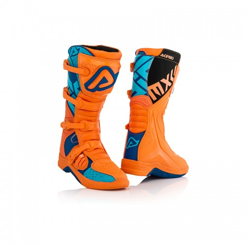 MX Boots Acerbis 22999.204 X-TEAM Orange-Blue